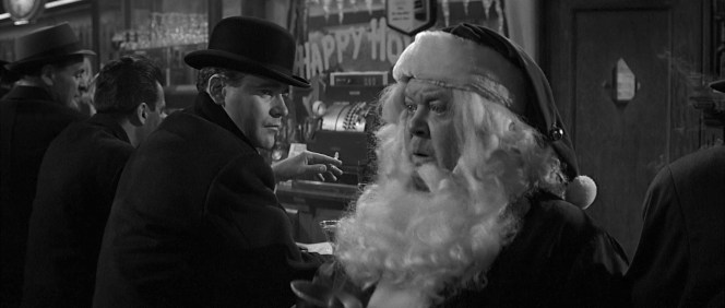 C.C. Baxter's depression is even enough to deflate Santa Claus' holiday spirit.