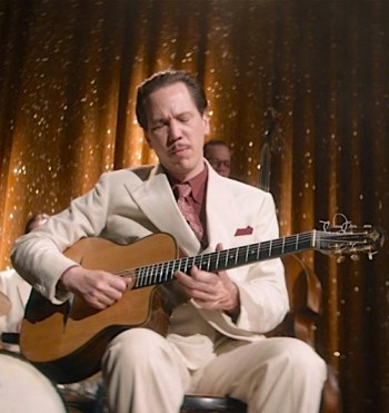 Reda Kateb as Django Reinhardt in Django (2017)
