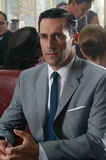 "Jon Hamm as Don Draper in ""5G"", Episode 1.05 of Mad Men."