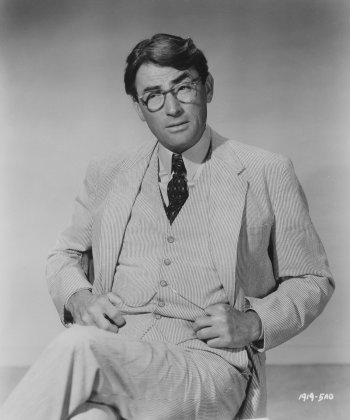 Gregory Peck as Atticus Finch in To Kill a Mockingbird (1962)