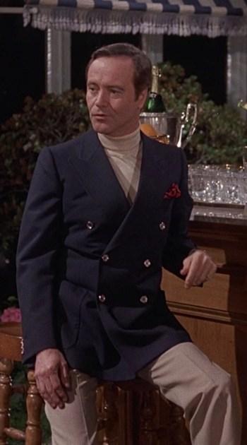 Jack Lemmon as Wendell Armbruster Jr. in Avanti! (1972)
