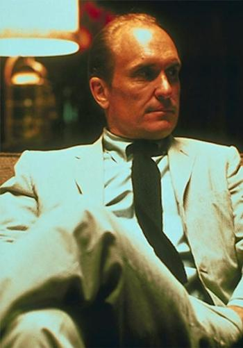 Robert Duvall as Tom Hagen in The Godfather, Part II (1974)