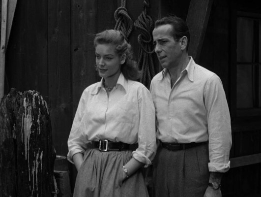 Bogie and Bacall.