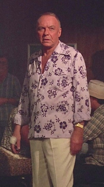 "Frank Sinatra as Michael Doheny in Magnum, P.I., Episode 7.18: ""Laura"""