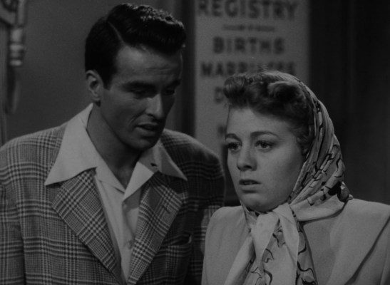 Alice recoils after seeing the marriage office is closed for Labor Day, while George can now feel as relaxed as he looks in his open-neck sport shirt.