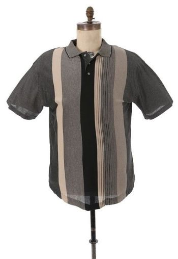 "James Gandolfini's screen-worn George Foreman brand polo shirt from ""Members Only"". (Source: Gotta Have Rock and Roll)"