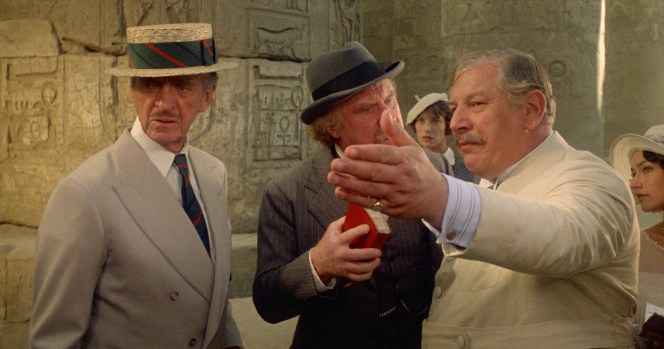 David Niven, Jack Warden, and Peter Ustinov in Death on the Nile (1978)