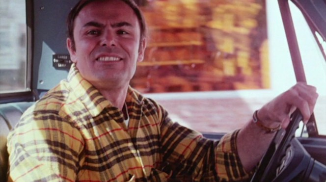 John Saxon in Moonshine County Express (1977)
