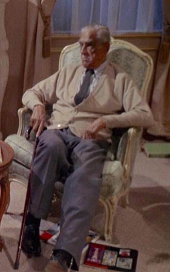 Boris Karloff as Byron Orlok in Targets (1968)