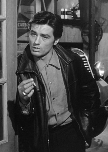 Alain Delon as Francis Verlot in Any Number Can Win (Mélodie en sous-sol) (1963)