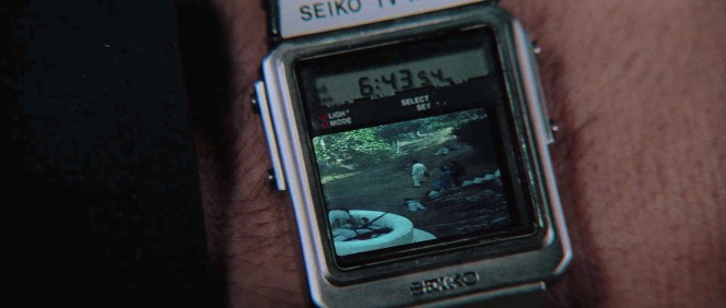 Seiko innovated the perfect watch for action heroes who wanted to take a break from chasing the bad guy and catch the latest episode of Benson.