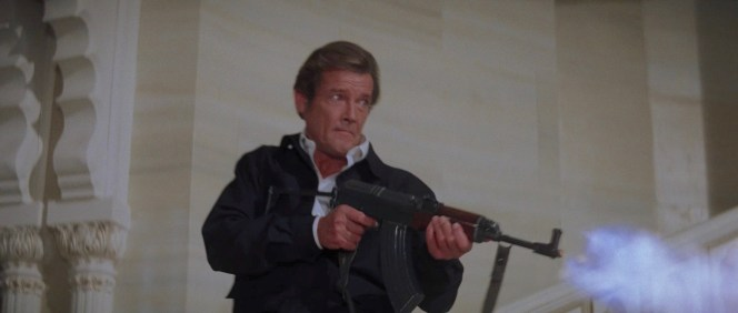 One of my favorite scenes from Roger Moore's tenure as Bond.