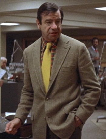 Walter Matthau as Zachary Garber in The Taking of Pelham One Two Three (1974)
