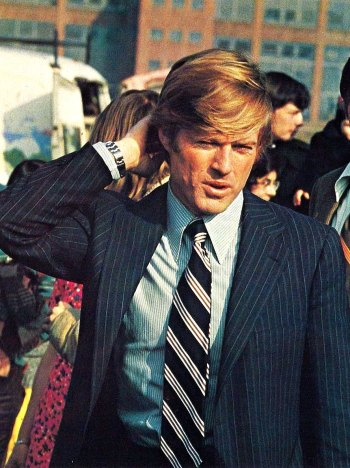 Robert Redford as Bill McKay in The Candidate (1972)