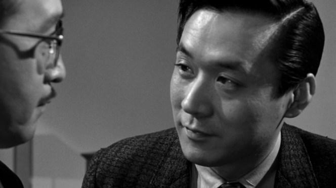 James Shigeta in The Crimson Kimono (1959)