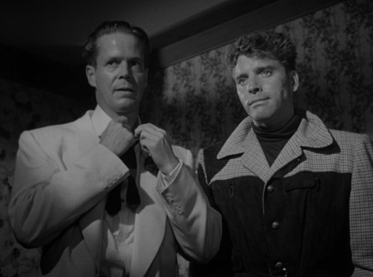 Dan Duryea and Burt Lancaster in Criss Cross