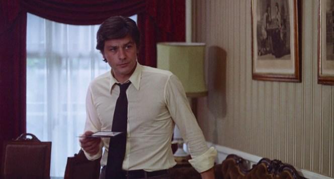 Alain Delon as Jean Laurier in Scorpio (1973)