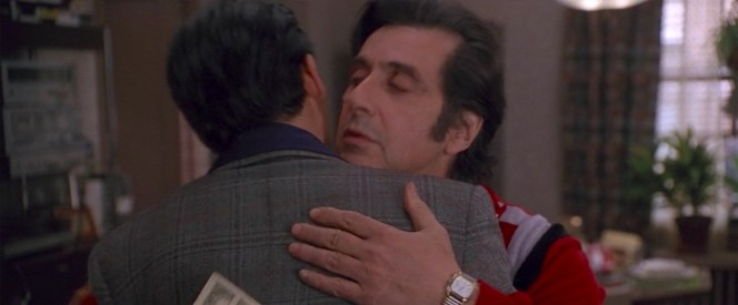 Johnny Depp and Al Pacino in Donnie Brasco