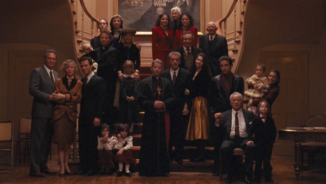 The cast of The Godfather, Part III (1974)