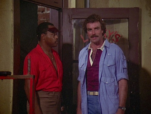 Tom Selleck on Magnum, P.I.