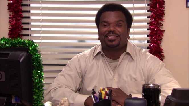 Craig Robinson in The Office