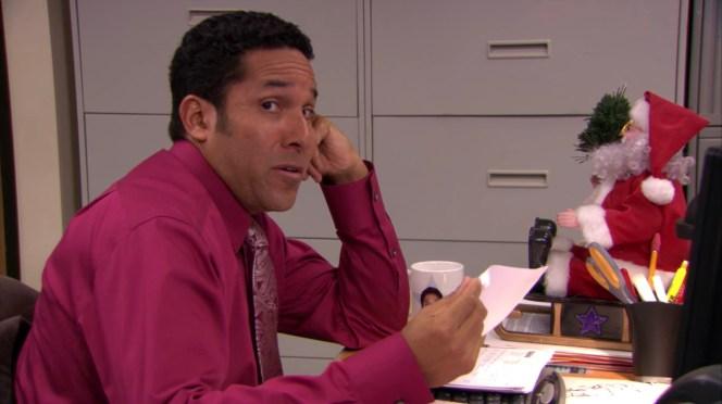 Oscar Nunez in The Office