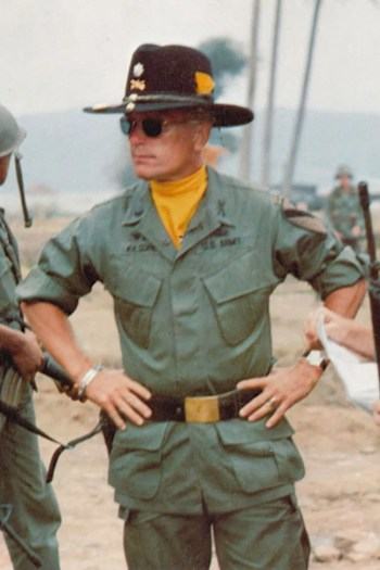 Robert Duvall as Lieutenant Colonel Bill Kilgore in Apocalypse Now (1979)