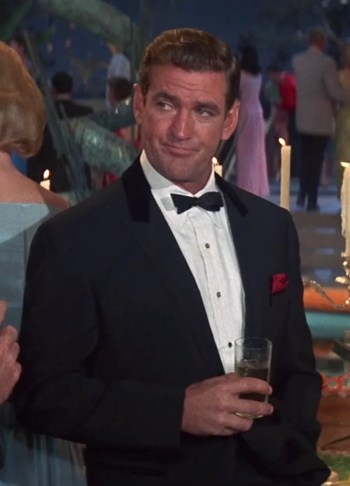 Rod Taylor as Bruce Templeton in The Glass Bottom Boat (1966)