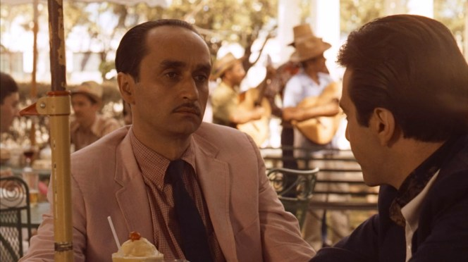 Al Pacino and John Cazale in The Godfather Part II (1974)