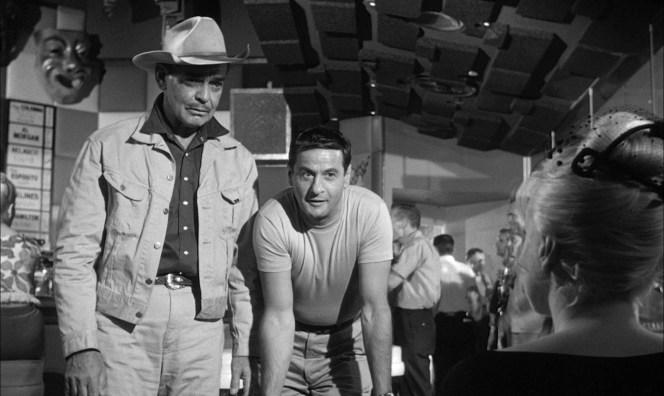 Clark Gable and Eli Wallach in The Misfits.