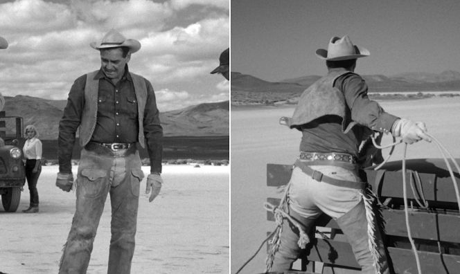 Clark Gable in The Misfits