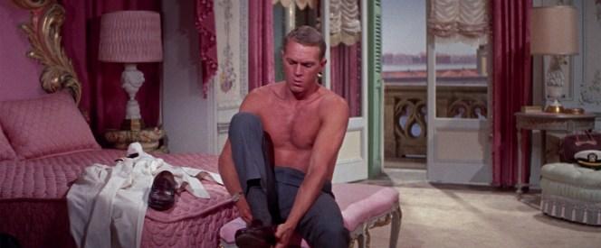 Steve McQueen in The Honeymoon Machine (1961)