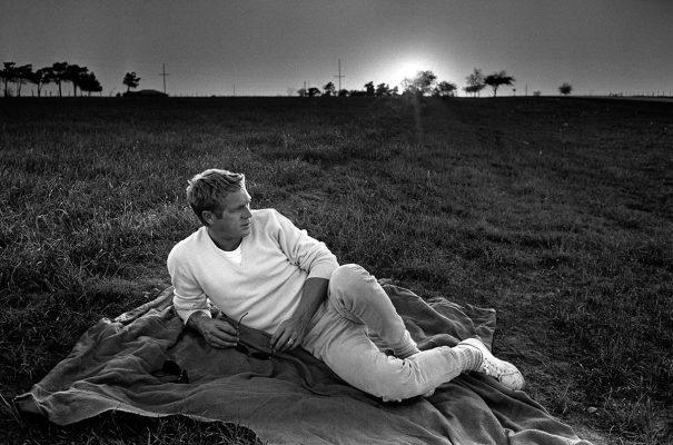 Steve McQueen by William Claxton, Texas 1963.