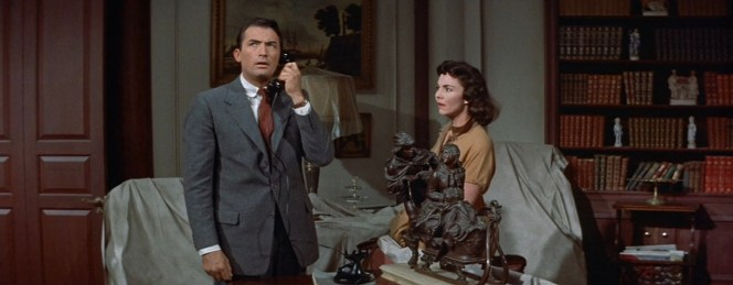 Gregory Peck as Tom Rath in The Man in the Gray Flannel Suit (1956)