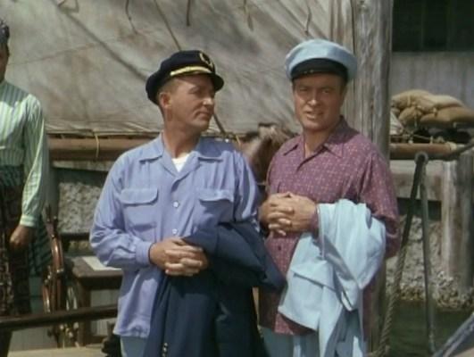 Bing Crosby and Bob Hope in Road to Bali (1952)