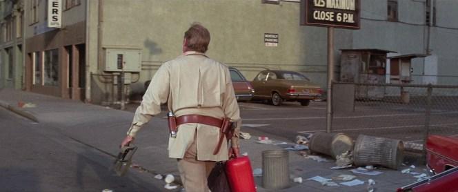 Charlton Heston as Robert Neville in The Omega Man (1971)