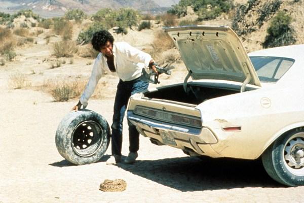 Barry Newman as Kowalski on Vanishing Point (1971)
