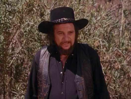 Waylon Jennings on The Dukes of Hazzard