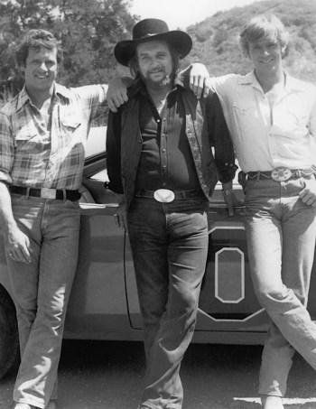 Tom Wopat, Waylon Jennings, and John Schneider