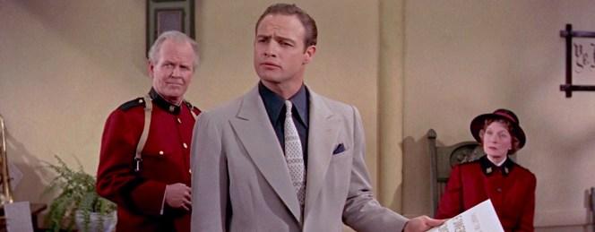 Marlon Brando as Sky Masterson in Guys and Dolls (1955)