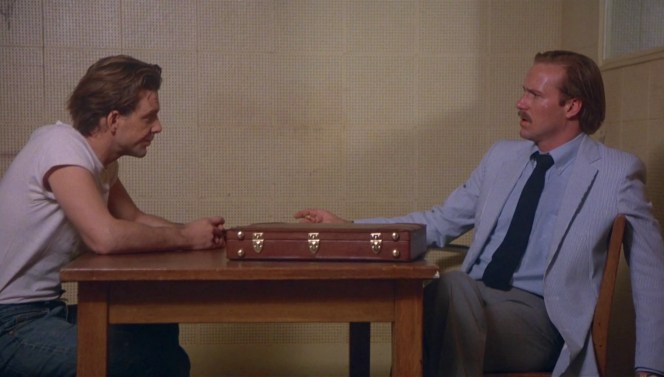 Mickey Rourke and William Hurt in Body Heat (1981)
