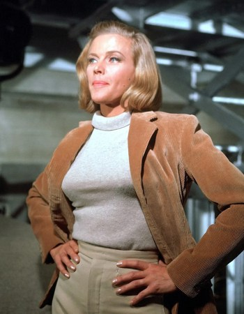 Honor Blackman as Pussy Galore in Goldfinger (1964)