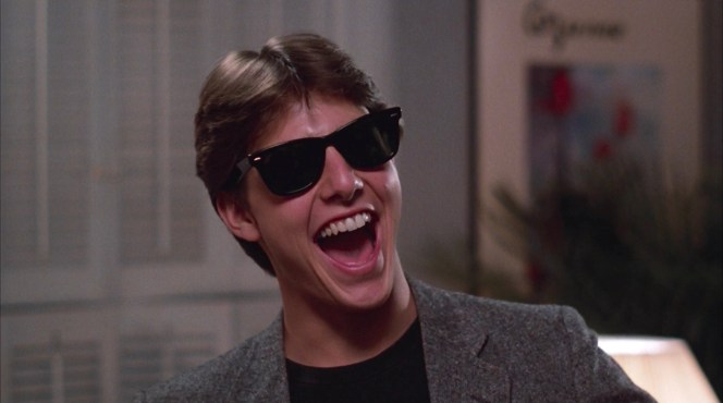 Tom Cruise as Joel Goodson in Risky Business (1983)