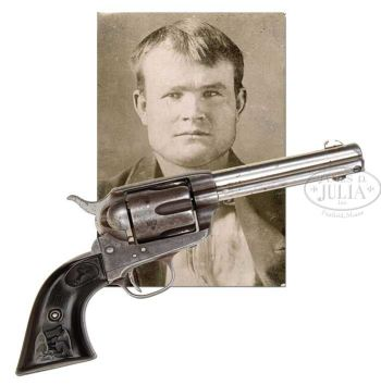 Butch Cassidy's Colt Single Action Army