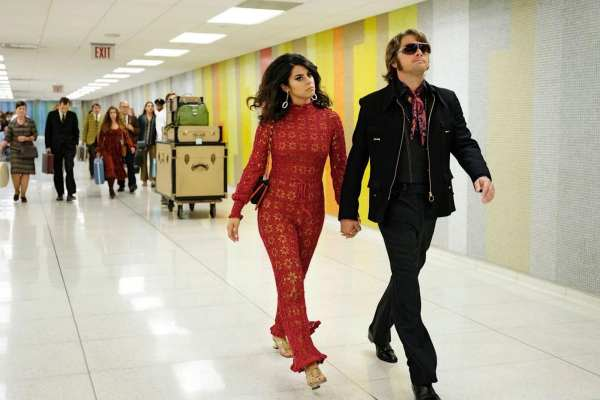 Leonardo DiCaprio and Lorenza Izzo in Once Upon a Time in Hollywood (2019)