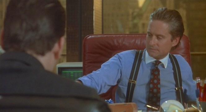 Michael Douglas as Gordon Gekko in Wall Street (1987)