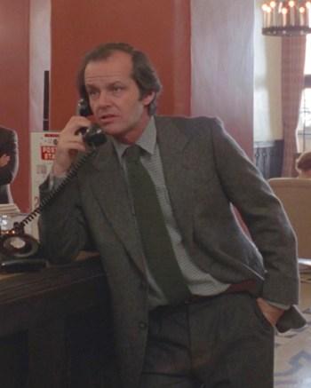Jack Nicholson as Jack Torrance in The Shining (1980)