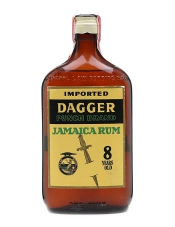 Dagger Punch Brand Jamaica Rum, circa 1950s.