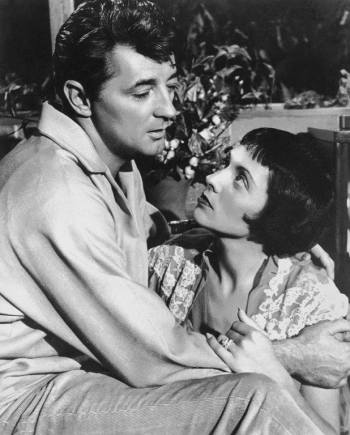 Robert Mitchum and Keely Smith in Thunder Road (1958)
