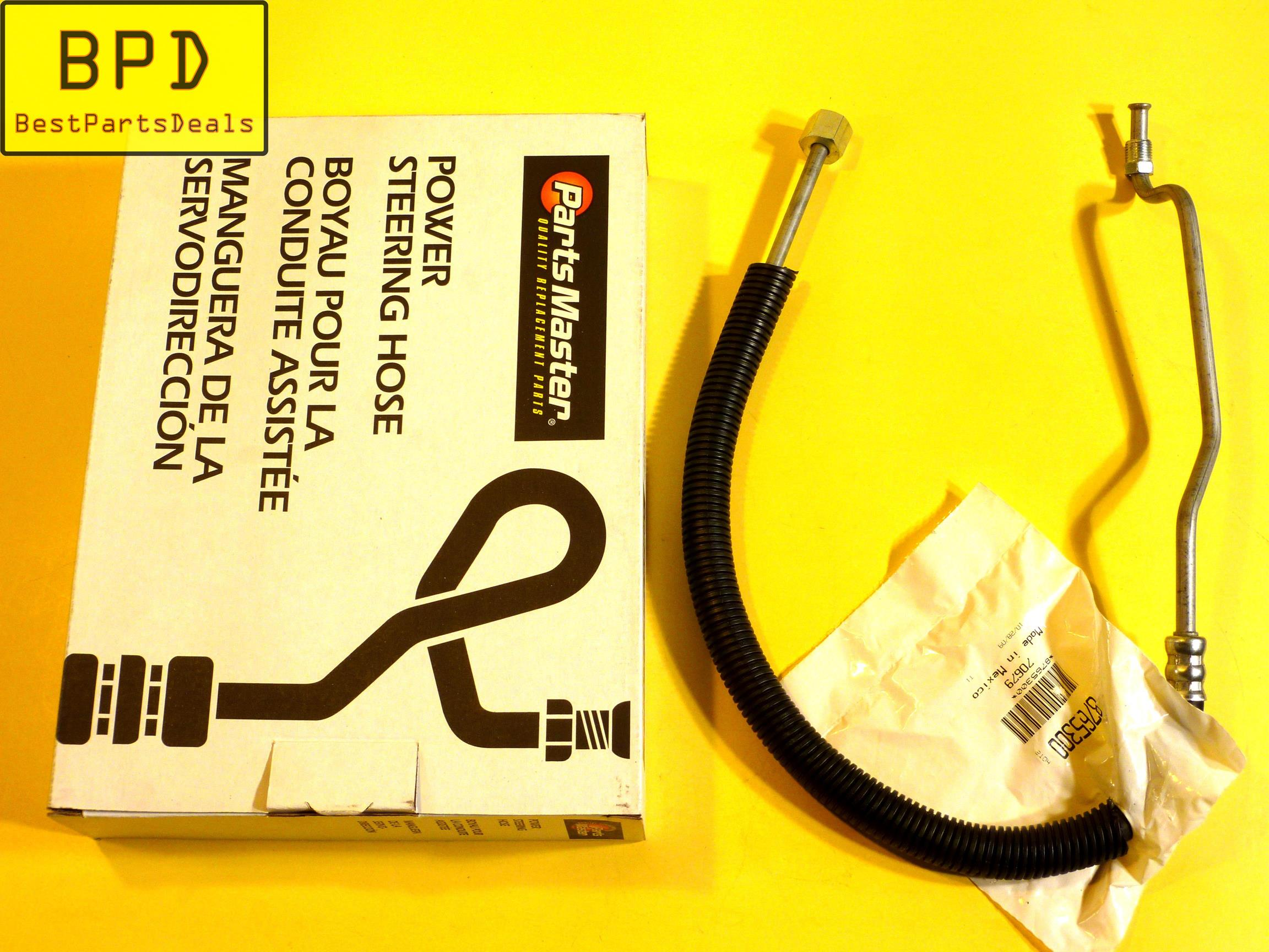 Power Steering Pressure Line Hose Assembly Parts Master